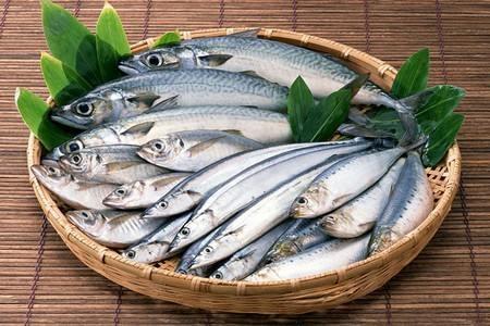 Рыба в тарелке