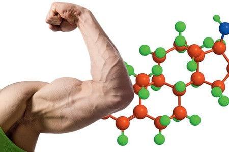 Рука и химическая цепочка