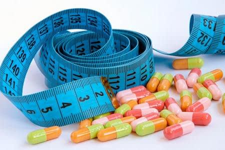 таблетки и метр