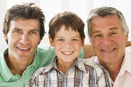 внук, сын и дед