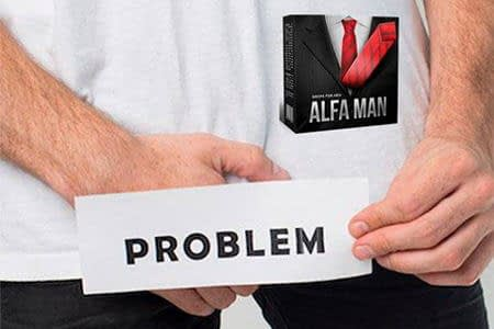 мужчина с табличкой problem